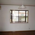 洋室6帖 出窓があります