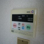 給湯温度が設定できます