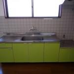 キッチン 作業スペース広めです