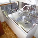 キッチン ガスコンロ設置可です